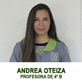 ANDREA OTEIZA - PROFESORA JEFE 3 BASICO