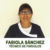 FABIOLA SANCHEZ TECNICO DE PARVULOS