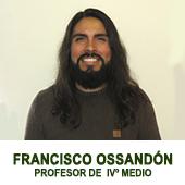 Francisco ossandon - profesor JEFE DE III MEDIO