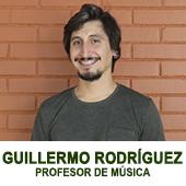 GUILLERMO RODRIGUEZ - PROFESOR DE MUSICA