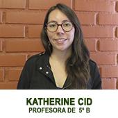 KATHERINE CID - PROFESORA JEFE DE 6 BASICO
