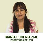 MARIA EUGENIA ZIJL - PROFESORA JEFE DE 8 BASICO