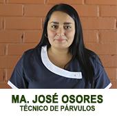 MARIA JOSE OSORES TECNICO DE PARVULOS