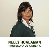 NELLY HUALAMAN - DOCENTE DE PRE KINDER