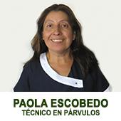 PAOLA ESCOBEDO - TECNICO EN PARVULOS