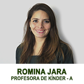 ROMINA JARA - PROFESORA DE KINDER A